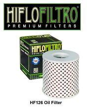 HiFlo HF126 Oil Filter KZ750 Z1 KZ900 KZ1000 KZ1300 ZN1300 Kawasaki