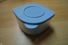 Tupperware  Behälter 475 ml Inhalt farblos mit hellblauem Deckel wie neu!