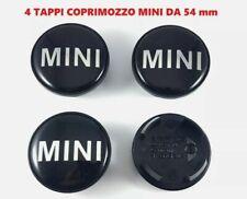 4 Tappi Coprimozzo COMPATIBILI MINI COOPER ONE SD D COUNTRYMAN Borchie 54 mm