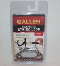 Allen Archery Release Aid String Loop 3 Pack #545 Bowhunting