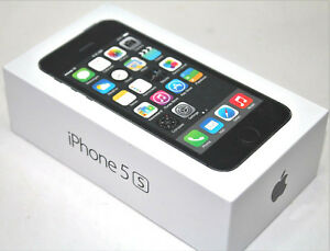Apple iPhone 5s - 16GB - Space Gray (Verizon) A1533 (CDMA + GSM)New Other SEALED