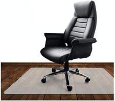 Bodenschutzmatte Bürostuhlunterlage 120 x 80 cm Polypropylen Hartboden Neutral
