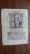 1664 Calvi Scrittori Bergamaschi: Teodoro Foresti (Solto Collina-Bergamo)