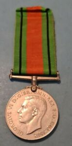 100% Original WW2 Defence Medal