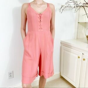 NWT Anthropologie A Loves A Cropped Jumpsuit S Retail $119