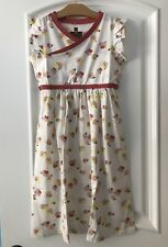 TEA COLLECTION Nwt Girls Mulberry Wrap Neck Dress Size 12