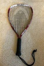 Head RacquetBall Nano Titanium Technology Red Racquet Handle Size 35/8