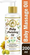 Mom & World Baby Nourishing Oil with Almond, Grapeseed, Wheatgerm, Olive 200ml
