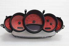 Porsche 996 Carrera 911 Tiptronic Automatic Speedometer Instrument Cluster RED