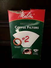 Melitta #2 Coffee Filters 30 Filters