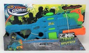 Nerf Water Gun Toy Super Soaker Zombie Strike Revenge Contaminator Outdoor Fun