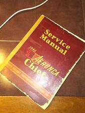 Original 1946 Aeronca Chief Model 11A  Service Manual