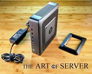 HP T620 Plus 4GB-RAM 16GB-SSD 5x1GbE PSU Rev B Stand pfSense firewall router