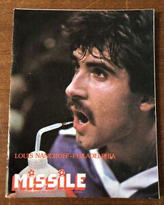 1981 MISL Soccer Buffalo Stallions Program vs Philadelphia Fever BUFFALO AUD