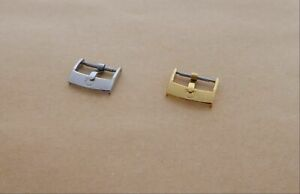 NOS Watch Strap buckle Engraved Ω to fit Omega Silver Gold Rose Gold 16mm 18mm