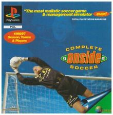 Complete Onside Soccer (PS) - Game  PPVG The Cheap Fast Free Post