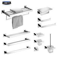 Towel Bar Set Bath Accessories Bathroom Hardware Stainless Steel Bathroom Holder