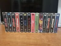 Lot  bluray retro box Vhs tape edition numbered numerata woth poster