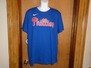 Rhys Hoskins Philadelphia Phillies Men's Nike Player Name Number T Shirt S NWT