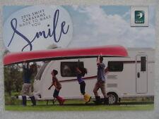 Swift Touring Caravan Brochure 2016 - Challenger, Conqueror, Elegance.-Layouts,.
