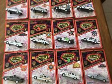 12- Different  Road Champs POLICE CARS  1/43 Diecast NEW