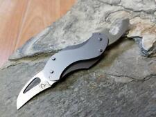Mantis Buzzard Necessikey Folding Knife Black Alum 420HC Multi Tool Key Ring B4