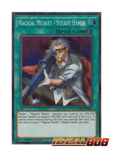 YUGIOH x 3 Magical Musket - Steady Hands - SPWA-EN023 - Super Rare - 1st Edition