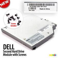 Genuine DELL 2nd IDE HDD Hard Drive Caddy Media Bay Inspiron 500M 510M 600M 610M
