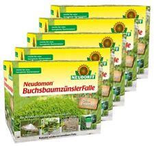5 x Neudorff Neudomon Buchsbaumzünsler Falle Pheromonfalle 5er Sparset