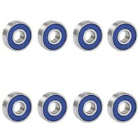 8 X Frictionless Ball Bearings ABEC 9 For Skateboards, Scooters, Inline Ska C6I8