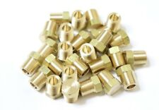 """25 pcs. 1/8"""" Male NPT Brass Hex Head Fitting.  MADE IN USA!"""