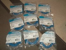lot of 9 ICC ICPCSJ05BL 5' foot patch cords, network cable