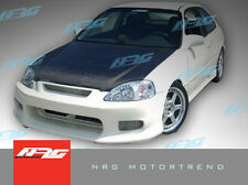 Civic 96-98 2/4 Door Hatchback CW style Poly Fiber Front bumper body kit front
