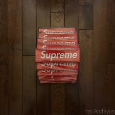 Supreme Red Box Logo Sticker - 100% Authentic - Brand New - *ONE*
