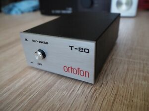 Ortofon T-20 VIDEO FREE SHIP MC step up transformer moving coil T20