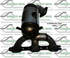 Catalytic Converter-Exact-Fit Right Davico Exc CA 19502