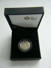 More details for 2008 royal mint royal arms £1 one pound silver proof coin box & coa