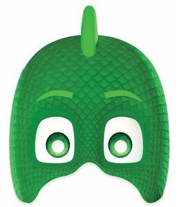 Gekko from PJ Masks Official Licensed Single 2D Card Party Face Mask