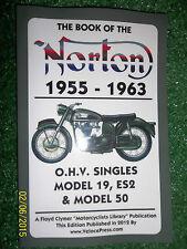 BOOK OF THE NORTON OHV SINGLES POCKET WORKSHOP MANUAL MODELS 19 ES2 & 50 1955-63
