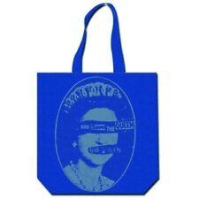 Borse sportive, borse shopping in tela da donna in cotone blu