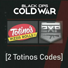 COD: Cold War Totinos CODEs FOR Operator skin,  Calling card + 30 min Of Wep 2Xp
