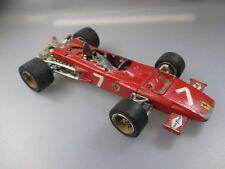 MEBETOYS: Ferrari 312 b2 f1 grand prix, Vintage Scale 1:28 (bois 8)
