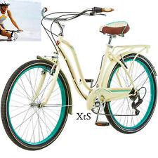 Women Road Bike Beach Cruiser Shimano Retro Bicycle Schwinn Bikes Body Toning 26