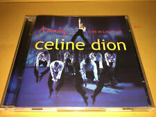 CELINE DION cd LIVE IN LAS VEGAS dvd TITANIC HIT i drove all night FEVER nature