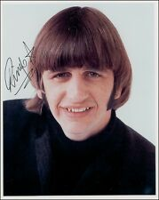 Ringo Starr of The Beatles 3 Preprints Autographed Hand Signed Photos 8x10 NEW
