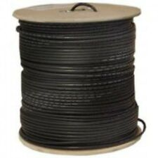 500'FT CAT6'e OUTDOOR UNDERGROUND BURIAL CABLE WIRE WATERPROOF UV THICK 23-AWG