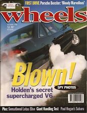 Wheels Oct 96 VS supercharged Lotus Elise Boxster GTHO SL280 Boxster