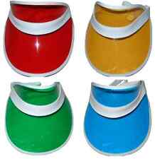 10 x POKER DEALER HAT VISOR - 4 COLOURS AVAILABLE FREE POSTAGE STAG HEN DO