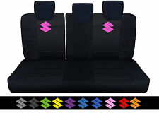 2005-2015SUZUKI swift  BACK SEAT CAR SEAT COVER  BLK W/S,choose ur color for S