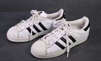 SB284 ADIDAS Superstar Damen Sneaker Sportschuhe Gr. 38 Leder weiß schwarz